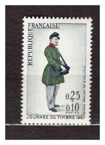 FRANCE-1967-MNH-Stamp-Day-1v-s24984