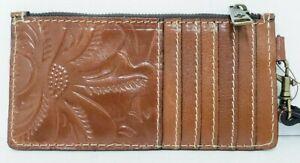 Patricia-Nash-Italian-Leather-ALMERIA-Card-Wristlet-Zipper-FLORENCE-NWT-C12-S7