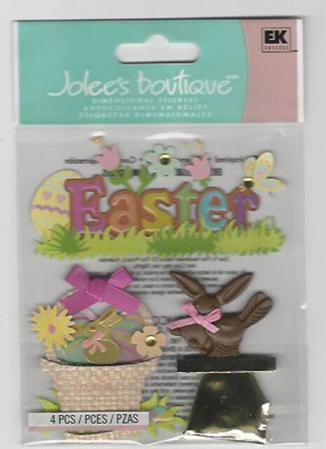 Glitter Spring EK Success Jolees Boutique Dimensional Stickers