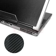 "Carbon Fibre 3D Skin Cover Decal Wrap Sticker Case For 17"" Laptop Notebook PC"