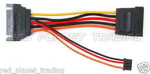 NEW-SATA-4Pin-Optical-Drive-Power-Cable-Fit-SFF-Dell-Optiplex-740-745-755-760