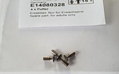 Spur H0 NEU OVP 4 Stück Märklin Trix E14080328 Zubehör-Set Puffer