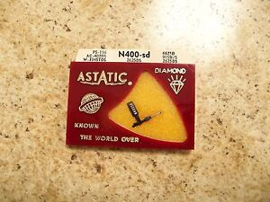 ASTATIC-N400-SD-record-needle-stylus-PS-116-AC-402DS-662SD-915DS-2625DS-DIAMOND