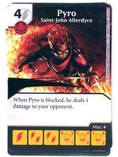 Marvel Dice Masters The Uncanny X-Men Pyro Saint-John Allerdyce 51-126 W/Dice
