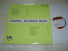 LIBRARY CHAPPELL Telecast Orchestra / Melodi Light Orchestra 60s LP LPC422-426