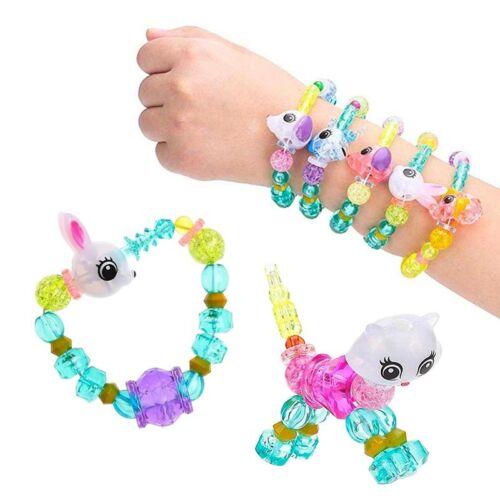Armband Tier Magique Elastisch Kreative Kind Tiere Sendung Zufälliges Neu