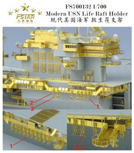 Fivestar PE 1//700 Modern USN Life Raft Holder FS700132