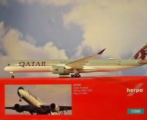 Herpa-Wings-1-500-Airbus-a350-1000-Qatar-Airways-a7-ana-531597-modellairport-500