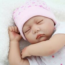 NPKDOLL 22'' BAMBOLA REBORN BABY DOLL LIFELIKE REALISTICO SILICONE CON CAPPELLO