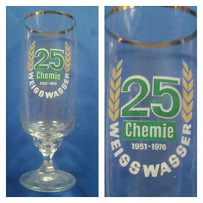 G650 Glas Bsg Chemie Weisswasser Dfv Dfb Fussball Sport Ddr Liga Oberliga 16,0cm Ausreichende Versorgung