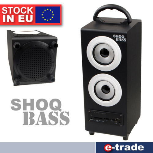 BIG Bluetooth Wireless Speaker Portable Subwoofer Super Bass Stereo FM //S11