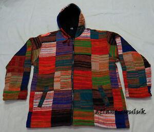 Zip riscaldata cappuccio cardigan J487 con Felpa invernale in L Fleece con acrilica lana Giacca patta Iwwq68