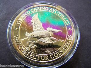 grand casino avoyelles 1997 collector coin series