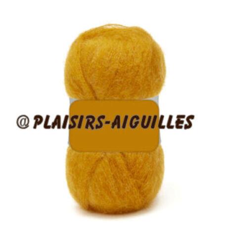 5 pelotes de laine PHIL LIGHT miel Neuve
