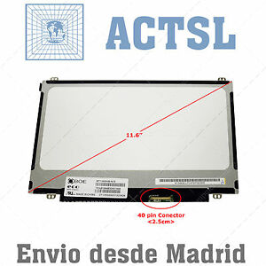 "B116xw03 V.2 V2 Lcd Display 11.6"" Pantalla Portatil 1366x768 Led Slim Dfc X1qwgnis-08001230-161552733"
