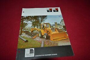 Bianco-Oliver-2-80-4-80-17-Trattore-Pala-Meccanica-Dealer-039-s-Brochure-Tbpa