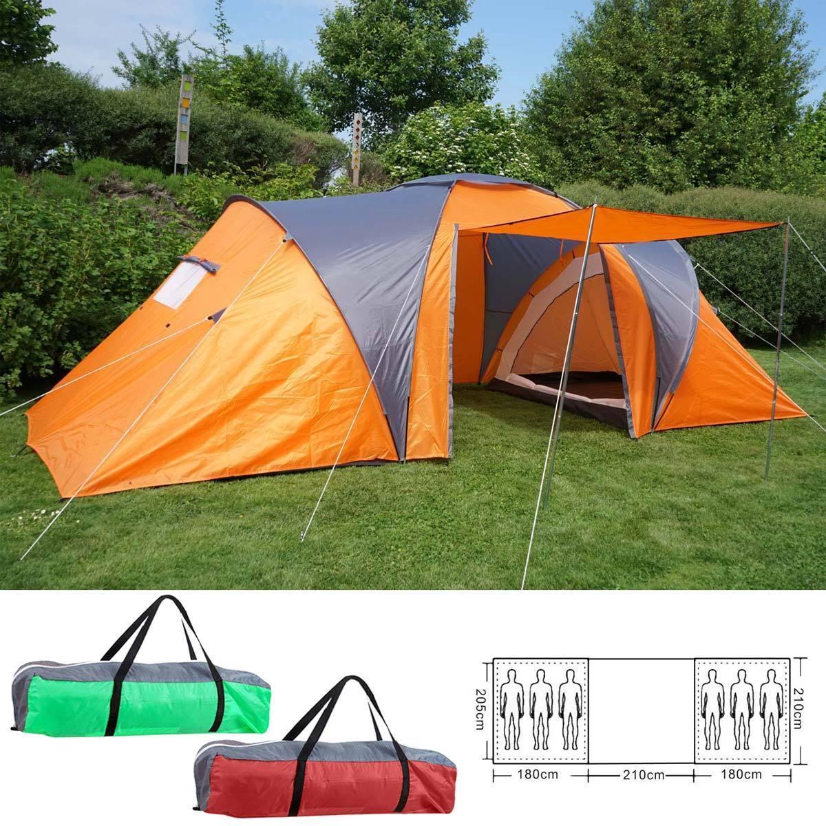 Tenda da campeggio Loksa, 6Uomo Tenda Cupola Tenda Igloo Tenda FestivalTenda, 6 persone