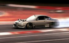 Nissan Silvia s14 Japanese JDM car poster print picture A3 SIZE
