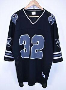 Details about Vintage 1984 Los Angeles Raiders LA Black NFL Jersey Shirt #32 Marcus Allen Rare