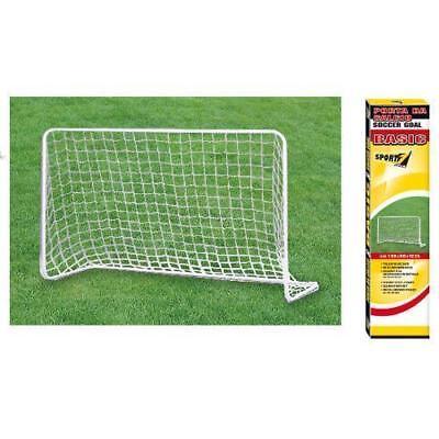 Sensibile Porta Calcio Calcetto Basic Soccer Metallo Goal Soccer Mandelli 180 X 120 X 60 Promuovere La Salute E Curare Le Malattie