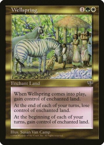 Wellspring Mirage PLD-SP White Green Rare MAGIC THE GATHERING MTG CARD ABUGames