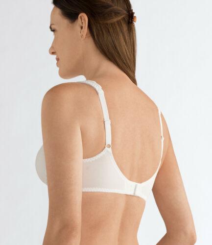Bianco con Tasche Mastectomia Amoena /'Jasmin/' Reggiseno Morbido