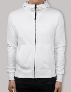 Goggle £ cappuccio in bianco con 199 Rrp Hood Cogg Felpa qSvwTx