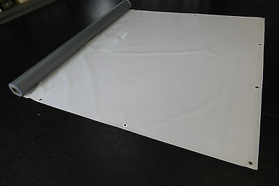 Abdeckplane Lkw Plane PVC Folie 2,50m x 1,50m ca.600g//m² Anthrazit Neu 2,90€ m²