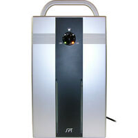 Mini Portable Dehumidifier & Air Cleaner Ionizer, Quiet Thermo-electric Purifier
