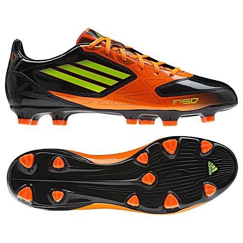 brand new dad11 d47c1 adidas F10 TRX FG 2012 Soccer Shoes Brand New Black   Orange   Neon