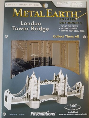 original 3D Metall Puzzle Fascinations Metal Earth Konstruktionsspielzeug