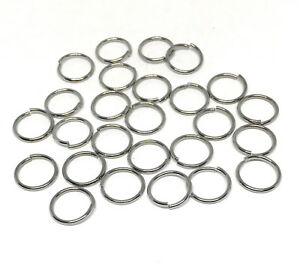 stainless steel hypoallergic 304 jewelry chainmaille jump rings open 10mm 18g
