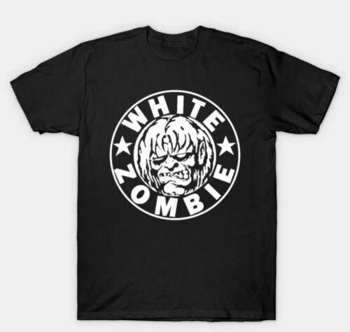 White Zombie Rob Zombie Heavy Metal Men/'s Black T-Shirt Size S-3XL 100/% cotton