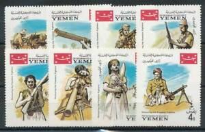 Jemen 266-273a** 3 231370 Krieg Reliable Performance Kgr Jahrestag Patr