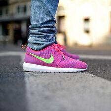 NIKE FLYKNIT ROSHERRUN Running Trainers Shoes Gym Casual Mens - UK 7.5 (EU 42)