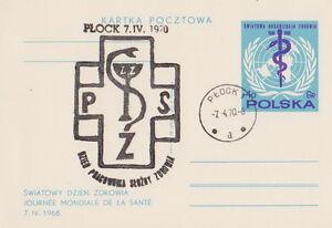 Poland postmark PLOCK - medicine - Bystra Slaska, Polska - Poland postmark PLOCK - medicine - Bystra Slaska, Polska