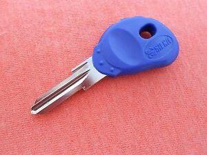 1 Buell Blast Firebolt Lightning Ulysses Motorcycle Key Blank Buell Blue Keys 100% D'Origine
