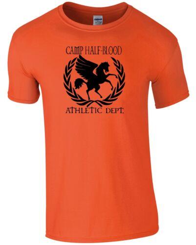 WORLD BOOK DAY Unisex Kids Tshirt Camp Half Blood Athletic Dept