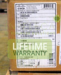 CISCO CDE110-2-146TXD-K9 1RU Engine, 146G HDD GE TX, DC incl 1 Content Del. Appl