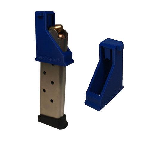RangeTray Magazine Loader SpeedLoader for the Colt Mustang .380 BLUE