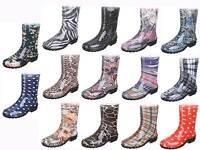 Gummistiefel Regenstiefel Damen Schuhe Stiefel Pfützen Treter Hunde spazierschuh