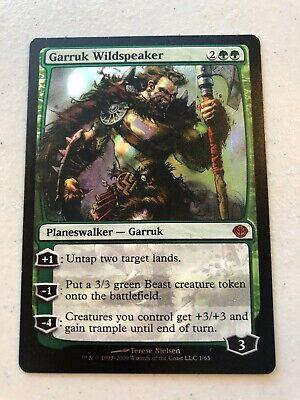 1 PreCon FOIL Garruk Wildspeaker Green Duel Decks Garruk vs Liliana Mtg Magic