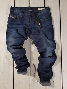 UVP $163 NEU Diesel Damen Jeans Grupee-Ankle rj738 Super Slim Skinny Low Waist