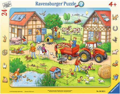 Ravensburger Rahmenpuzzle Mein kleiner Bauernhof mit 24 Teilen