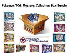 Pokemon TCG MYSTERY COLLECTION Box Bundle, 2 Random EX/GX Boxes 8 Booster Packs
