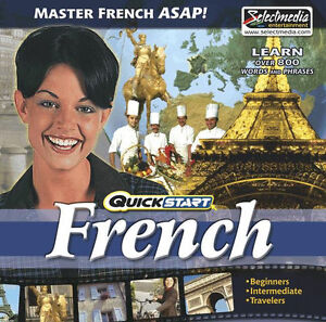QuickStart-French-AUDIO-2-CDs-Quick-amp-Easy-Way-to-Learn-Immersion-Method-NEW