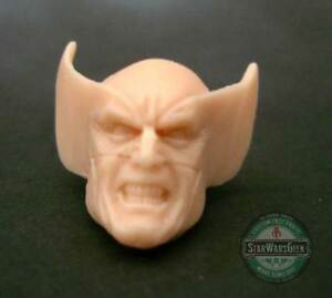 ML156-Wolverine-Custom-Sculpt-Cast-head-use-w-6-034-Marvel-Legends