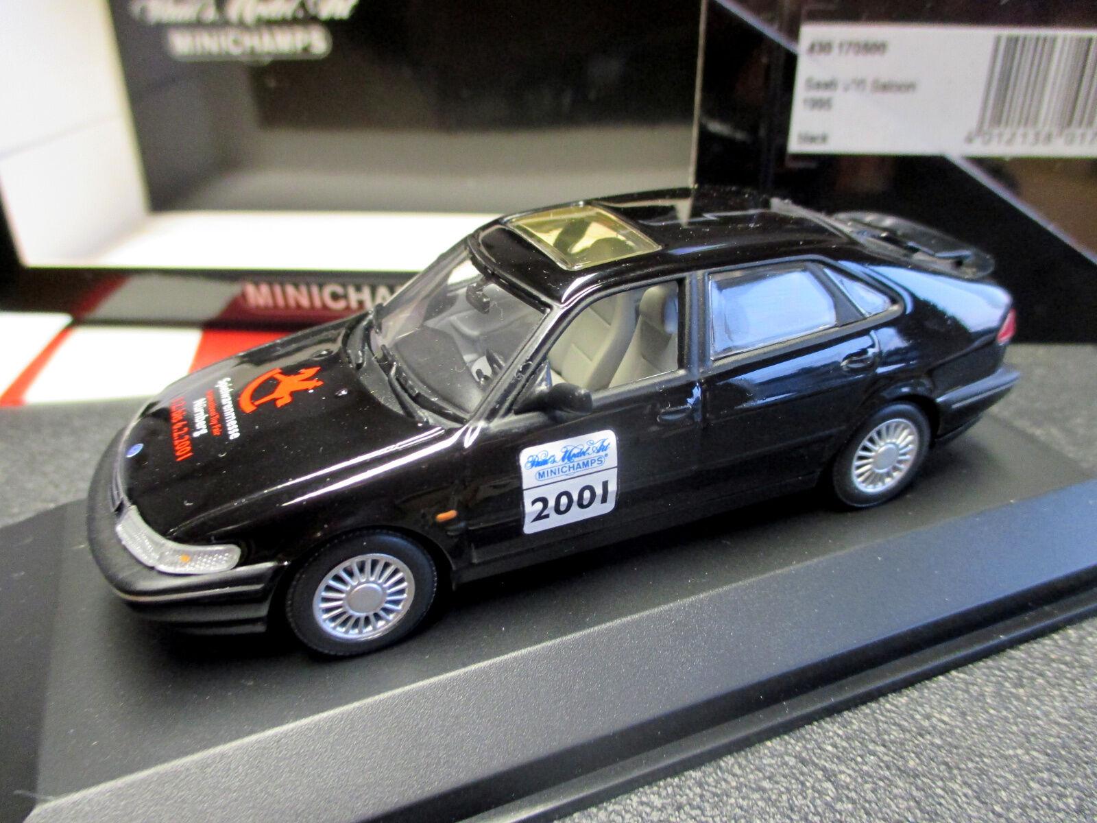 1 43 SAAB 900 Spielwaren-FIERA-modello Norimberga 2001 Minichamps MINT + RAR