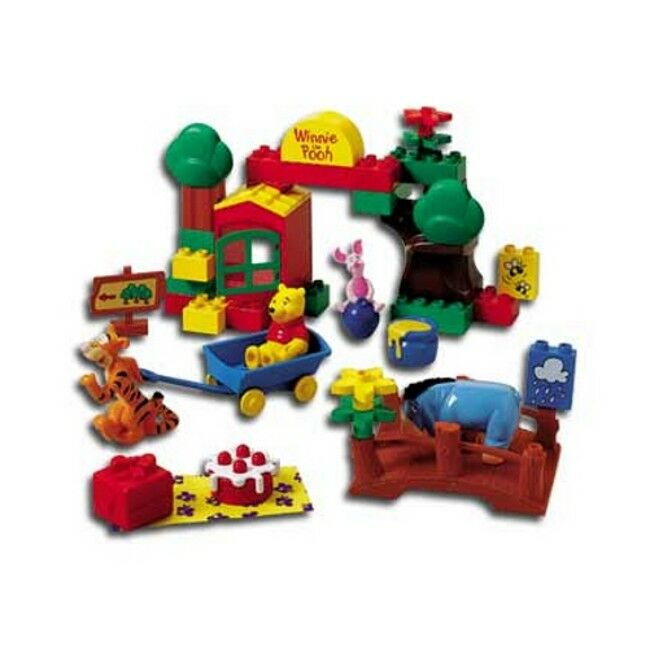LEGO 2987 - Duplo  Winnie The Pooh - - - The Hundred Acre Wood - 1999 - NO BOX 40bd87
