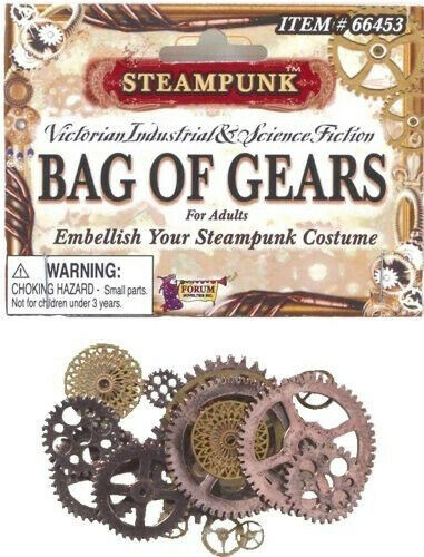 Forum Novelties Inc. Bag Of Gears Party Accessory. Free Delivery